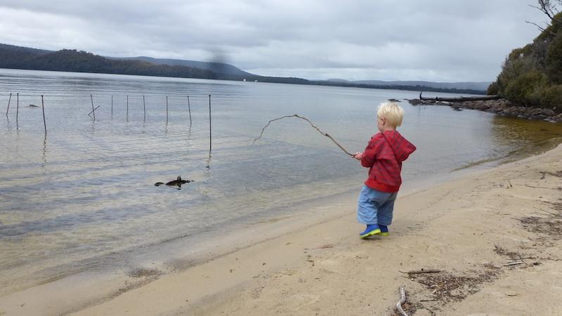 1127 7 erik fishing lake st clair tas winnebago baby for Lake st clair ice fishing